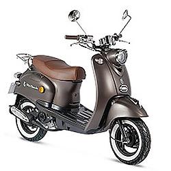 bruine scooter